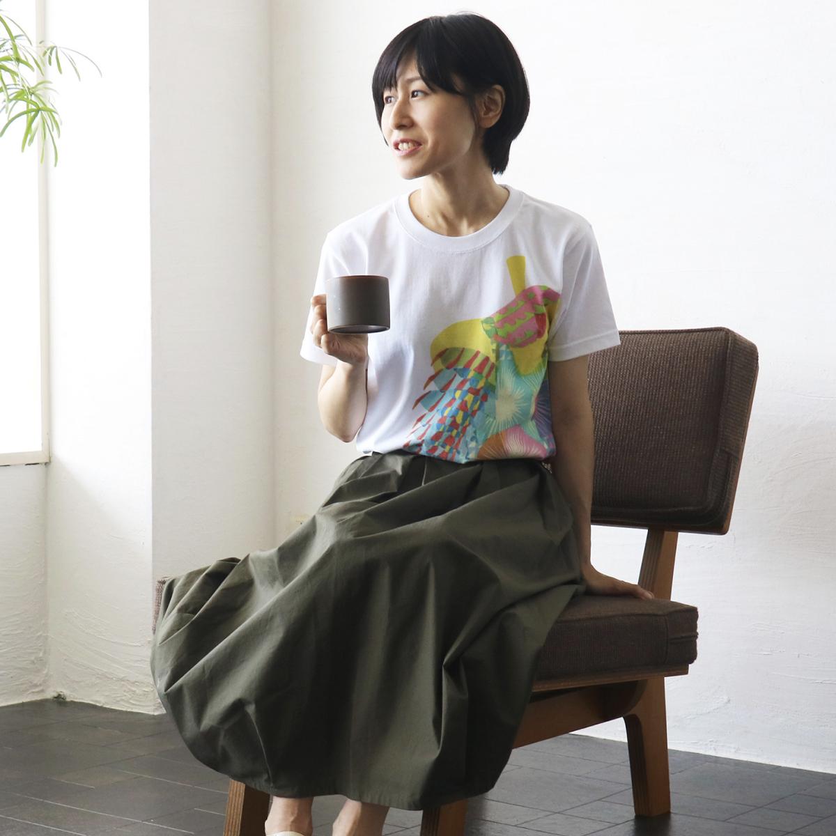 秋田人形道祖神 TシャツTYPE.A 商品画像