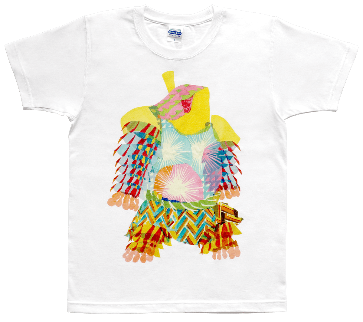 道祖神イラストTシャツ Type.a 商品画像