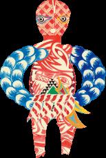 小雪沢のドジンサマ イラスト
